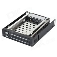 maiwo-m003-sata-hdd-mobile-rack-drawer-caddy-for-25-mobile-hard-disk-drive-black-silver