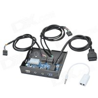 cheerlink-usb-20-usb-30-hd-audio-chassis-optical-drive-front-panel-w-35mm-av-cable