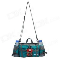 f863-multi-functional-water-resistant-single-shoulder-dacron-leisure-bag-blue