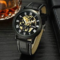 mce-men-fashion-hollow-out-style-pu-band-analog-mechanical-wristwatch-black