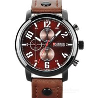 curren-8192-men-pu-band-quartz-analog-wrist-watch-brown-1626