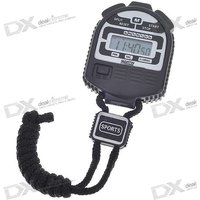 "1.1"" Lcd Digital Stop Watch With Neck Loop (1*lr44)"