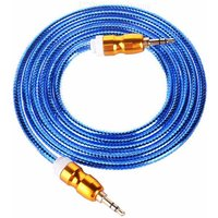 gourd-style-35mm-male-to-male-audio-cable-deep-blue-148cm