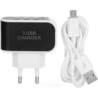 3-usb-plug-power-adatper-micro-usb-charging-cable-blackwhite