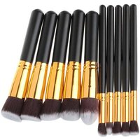 professional-10-in-1-cosmetic-tool-makeup-brushes-set-black-golden
