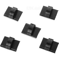 car-adhesive-wire-cord-cable-clip-holder-organizer-black-5pcs