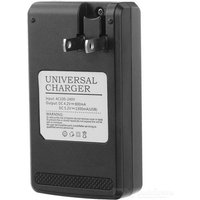 universal-usb-travel-charger-w-08-lcd-black-us-plugs