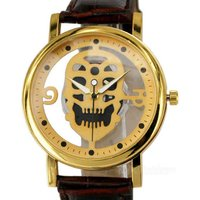 skull-dial-artificial-leather-band-analog-quartz-watch-golden