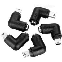angled-dc-5521-to-mini-usb-charging-adapter-black-silver-5pcs