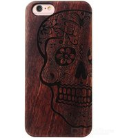 skull-pattern-wood-pc-back-case-cover-for-iphone-6-6s-brown