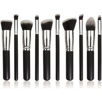 professional-10-in-1-cosmetic-tool-makeup-brushes-set-black-silver