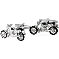 jewelry-brass-motorcycle-shape-cufflinks-silver-white-black-pair