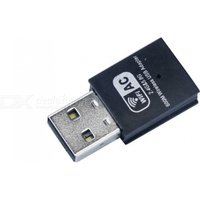 unt-w01-ac600-wireless-dual-frequency-usb-network-adapter-card-black