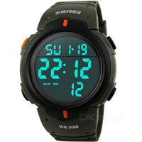 skmei-50m-waterproof-men-sports-watch-army-green