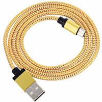 usb-to-micro-usb-reflective-data-charging-cable-golden-98cm