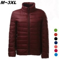 women-ultra-light-thin-down-jacket-coat-wine-red-xxxl
