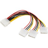 cy-sa-186-ide-4pin-to-3-ide-splitter-power-cable-multi-color-10cm