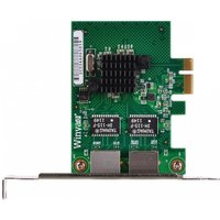 winyao-dual-port-rj45-gigabit-ethernet-pci-network-card-adapter-green