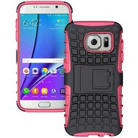 armour-style-protective-tpu-back-case-w-stand-for-samsung-galaxy-s7-edge-dark-pink-black