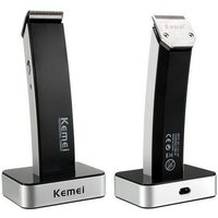 km-619-professional-portable-rechargeable-electric-hair-clipper-black