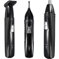 km-309-3-in-1-electric-nose-ear-hair-trimmer-shaver-black