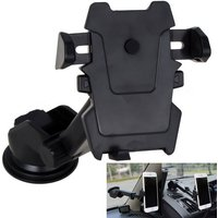 long-neck-suction-cup-one-touch-car-mount-phone-holder-black
