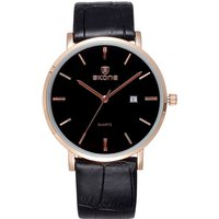 skone-508402-unisex-business-watch-w-calendar-rose-gold-black
