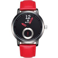 skone-unisex-pu-band-analog-quartz-watch-red-black-1-s377