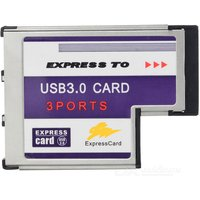 3-port-usb-30-express-card-54mm-adapter-for-laptop-silver-black