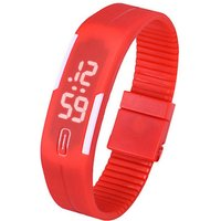 unisex-lodestone-pu-band-led-bracelet-wrist-watch-red-white