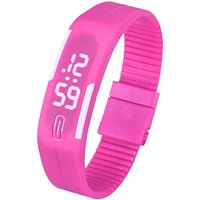 unisex-lodestone-pu-band-led-bracelet-wrist-watch-deep-pink-white