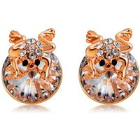 xinguang-woman-fashion-cute-little-frog-style-earrings-rose-gold