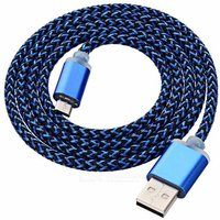 thickened-twine-micro-usb-data-cable-blue-97cm