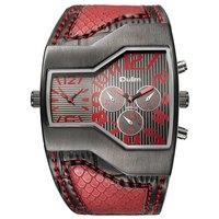 oulm-hp1220-casual-sports-men-quartz-analog-wrist-watch-red