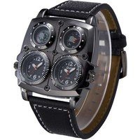 oulm-sports-dual-time-zone-compass-thermometer-decoration-watch-black