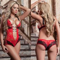 europe-style-sexy-lace-one-piece-lingerie-underwear-red-black