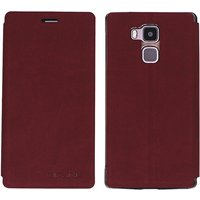 ocube-pu-leather-case-for-vernee-apollo-lite-mobile-phone-wine-red