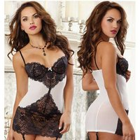european-american-style-sexy-lace-lingerie-black-white