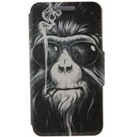szkinston-smoking-monkey-hd-pattern-pu-leather-case-for-iphone-7-8