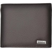 jinbaolai-folded-leather-wallet-w-coin-pocket-for-men-dark-coffee