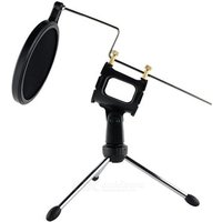 desktop-spray-guard-bracket-stand-for-cellphone-karaoke-microphone