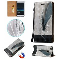 blcr-3d-embossed-feathers-pattern-magnetic-pu-case-for-huawei-p9-lite
