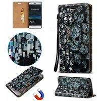 blcr-3d-embossed-skull-pattern-magnetic-pu-case-for-huawei-p9-lite