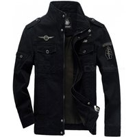 military-army-soldier-air-force-men-cotton-coat-jacket-black-xl