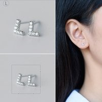 creative-spelling-english-alphabet-l-stud-earring-for-women-silver