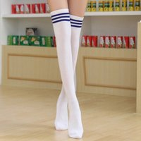japanese-style-white-blue-striped-cotton-stockings-1-pair