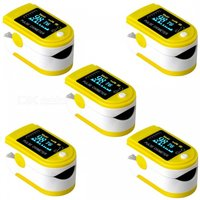 jzk-301-oled-finger-pulse-oximeter-heart-rate-monitor-yellow-5-pcs