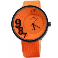 fashion-3d-number-scale-women-quartz-watch-orange