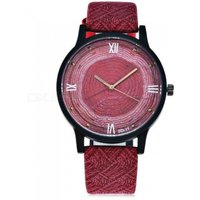 casual-vintage-women-quartz-watch-with-leather-strap-red