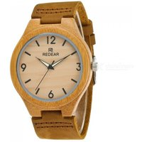 redear-1473-fashion-quartz-analog-bamboo-watch-for-men-light-yellow
